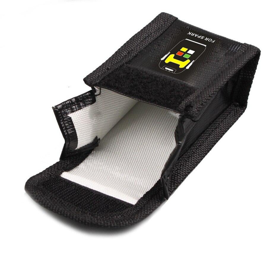 DJI SPARK Drone Lipo Battery Case Explosion-proof Safe Storage Bag Fireproof Protective Box Heat Resistance Radiation Pocket-9
