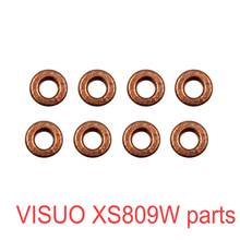 8pcs Metal Ring Visuo XS809W XS809HWG Original Parts Bearing iron ring Gear RC font b Drone