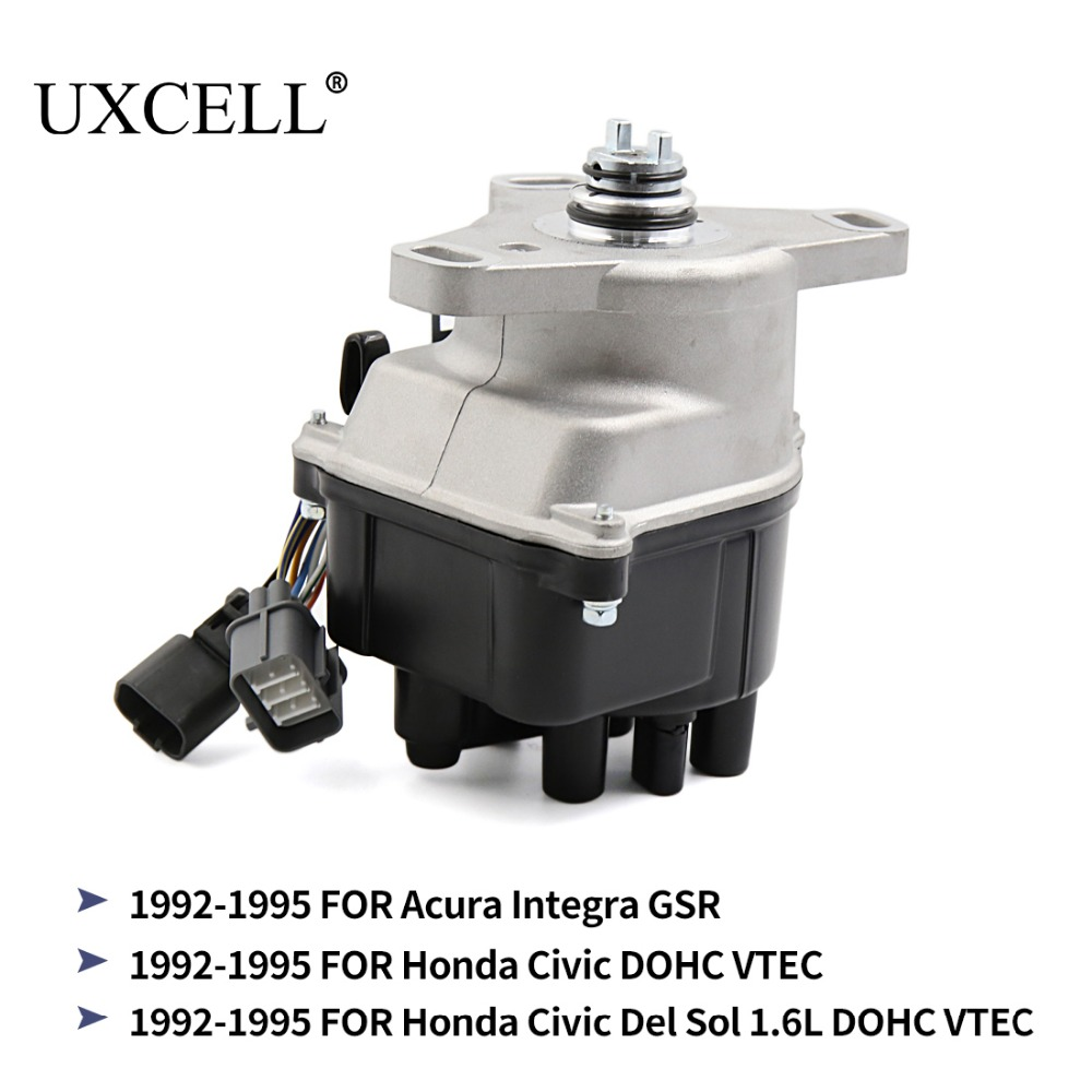 UXCELL TD-44U TD-68U Car Ignition Distributor For Acura Integra GSR 92-1995 For Honda Civic Del Sol 1.6L DOHC VTEC 1992 TO 1995