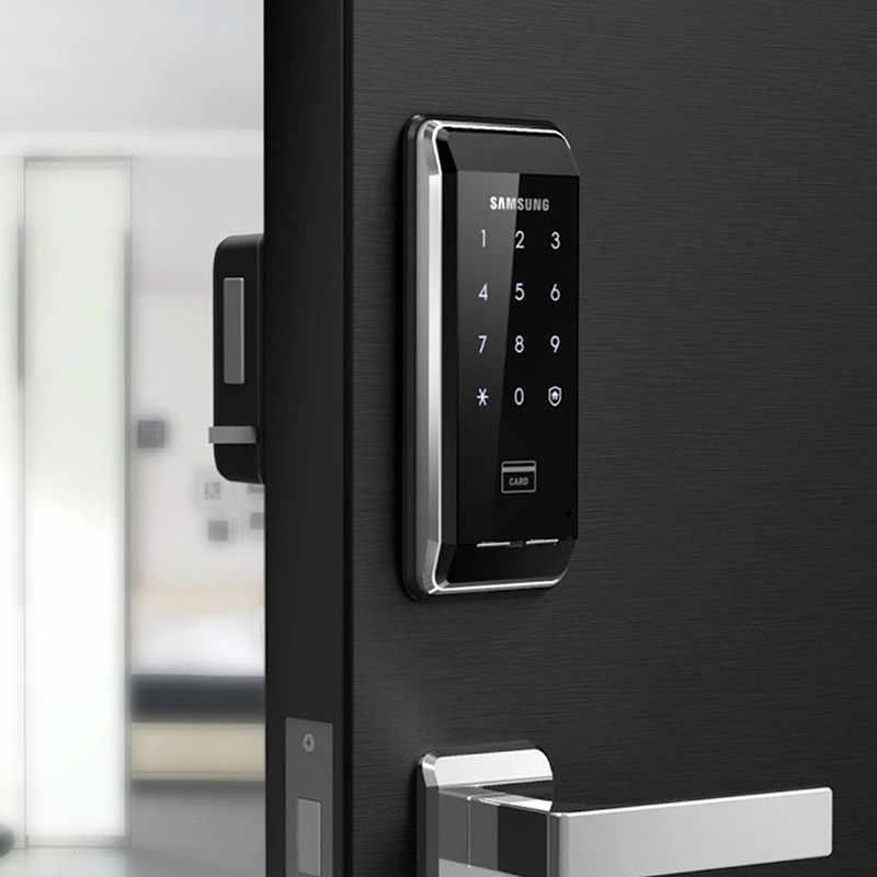 SAMSUNG Ezon SHS-2920 entrée de sécurité sans clé électronique nouvelle empreinte digitale numérique serrure de porte + 4 RFID carte