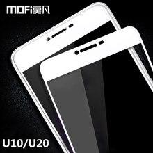 Meizu U20 стекло закаленное 5.0 «MOFi оригинальный Meizu U10 протектор экрана черный белый полное покрытие стекла И 10 20 фильм 5.5 дюймов