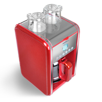 220V Semi Automatic Intelligent Coffee Maker American Coffee Machine Bookable 12 Cups Automatic Heat Preservation Drop Coffee