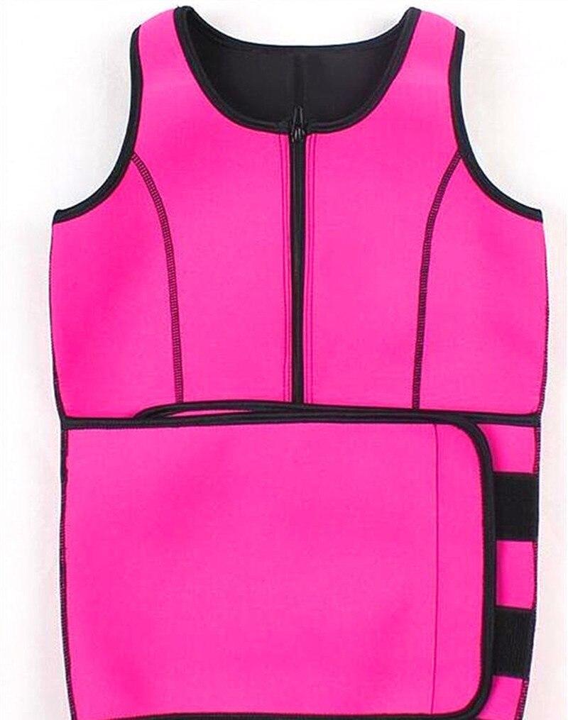 de87a56242 Hot Shapers Neoprene Sauna Waist Trainer Vest Workout Shaperwear Slimming  Adjustable Sweat Belt Fajas Body shaper Slim Underwear   BestDealPlus