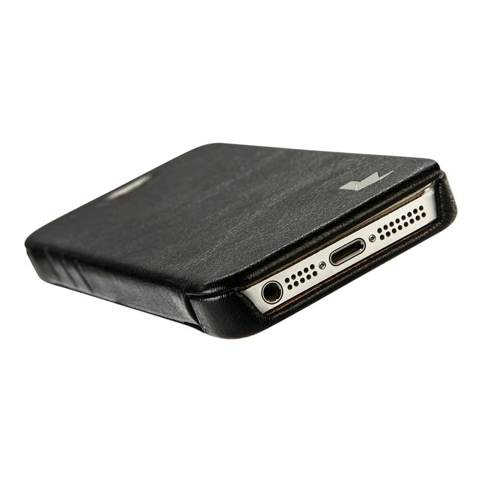 c266f8120f0 Jisoncase para iPhone SE 5S 5 PU Funda de cuero para iPhone 5S 5 caso lujo  tapa del teléfono cubierta del teléfono para iPhone se Anti-TOC