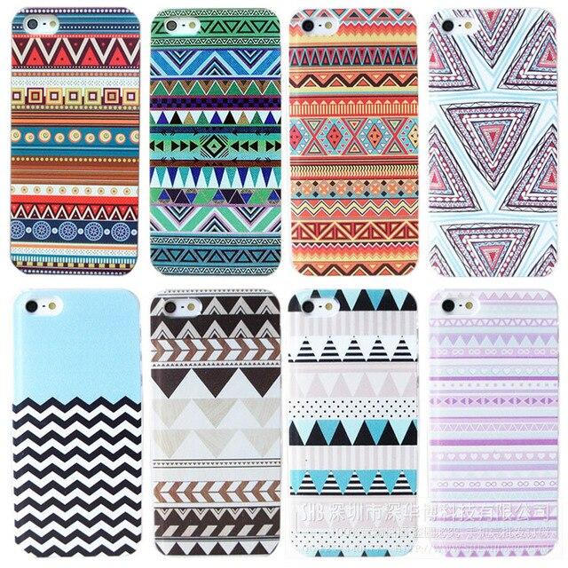 Capa para iphone4 / 4S / 5 / 5S, case para Iphone 4 4S 5 5S traseira iphone4 duros casos colorido Totem
