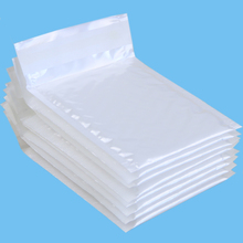 10 Pcs 110*130mm Waterproof White Pearl Film Bubble Envelope Mailing Bags Shockproof Packaging Courier Bags