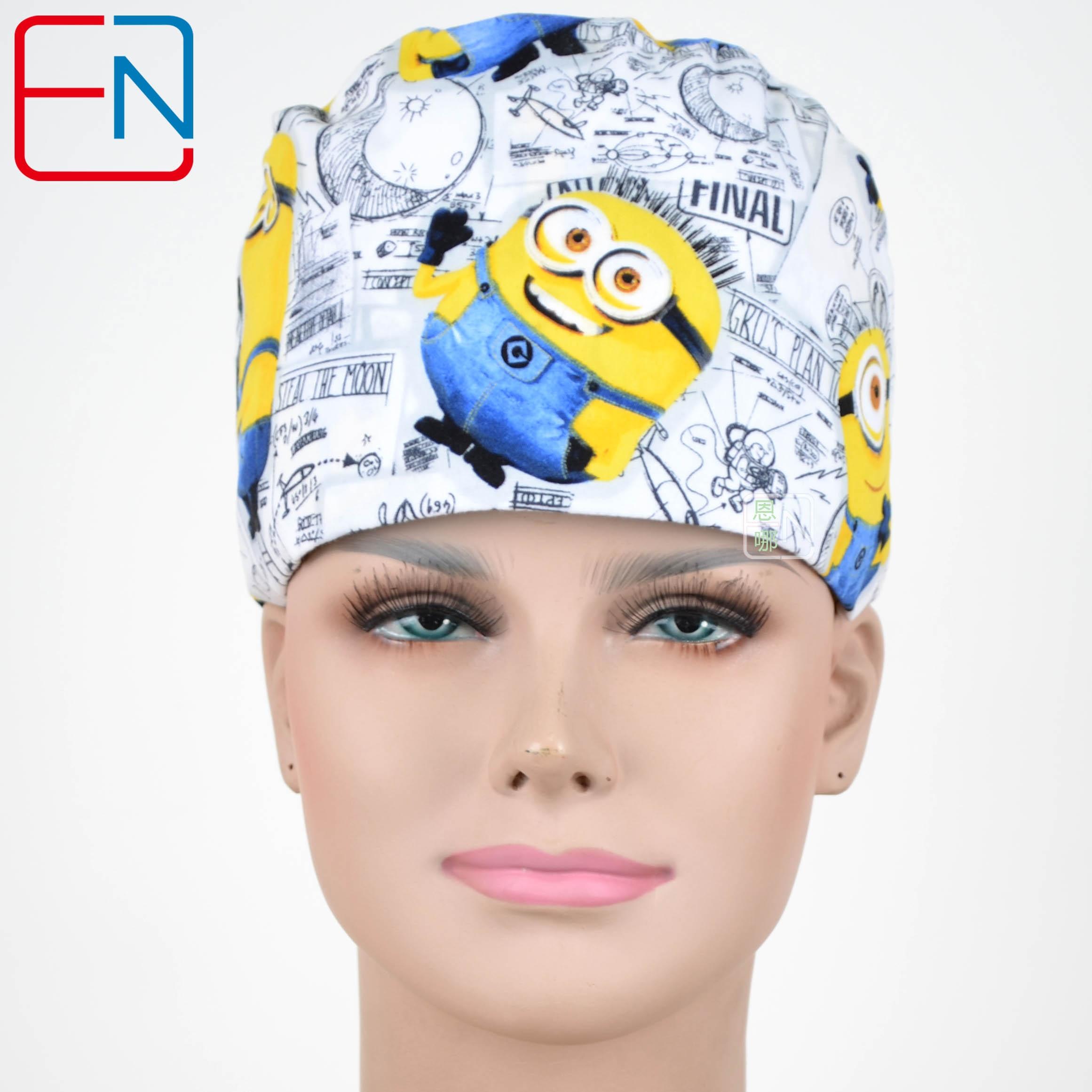 Hennar Medical Scrub Caps Surgical Caps In 100% Cotton