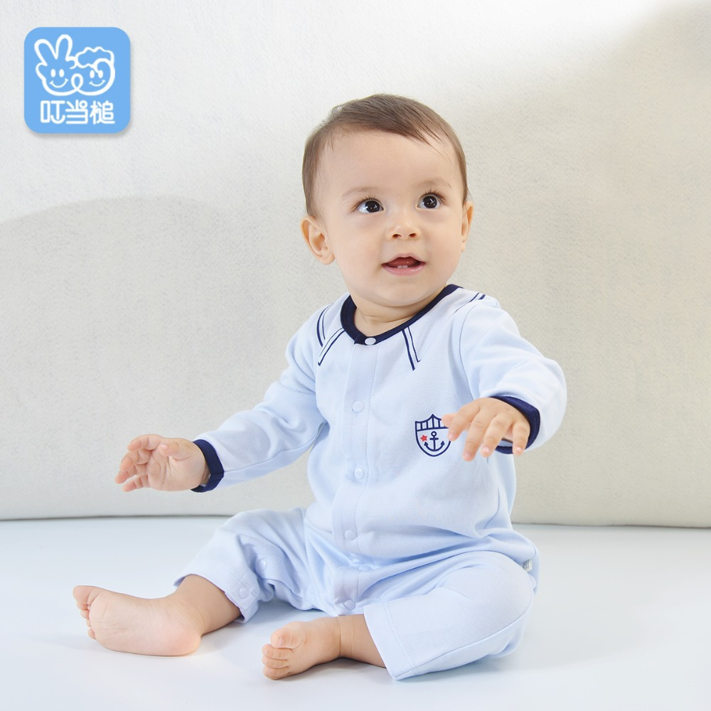 639db8b9507a Dinstry newborn clothes baby onesies autumn clothes men and women ...