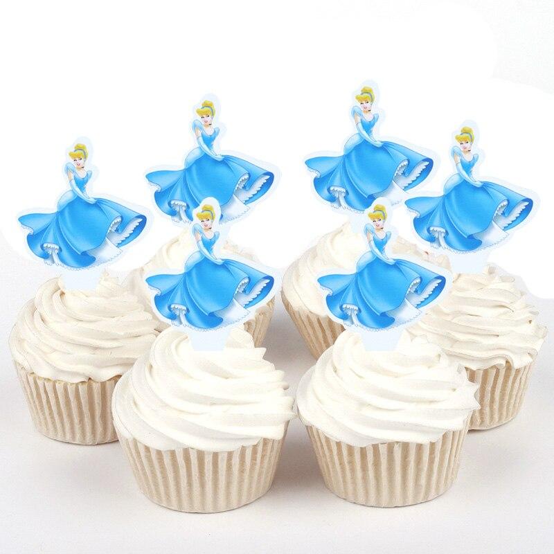 Us 188 35 Off100 Pcs Disney Princess Sophia Bella Cinderella Yang Mini Kertas Cupcake Puncak Untuk Dekorasi Kue Ulang Tahun Pesta Pernikahan
