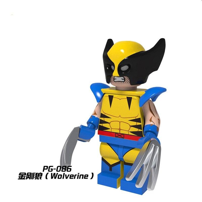 50PS スーパーヒーロー X 天使黙示録 Daken フィギュア PG086 ビルディングブロックレンガのおもちゃ子供  グループ上の おもちゃ & ホビー からの ブロック の中 1