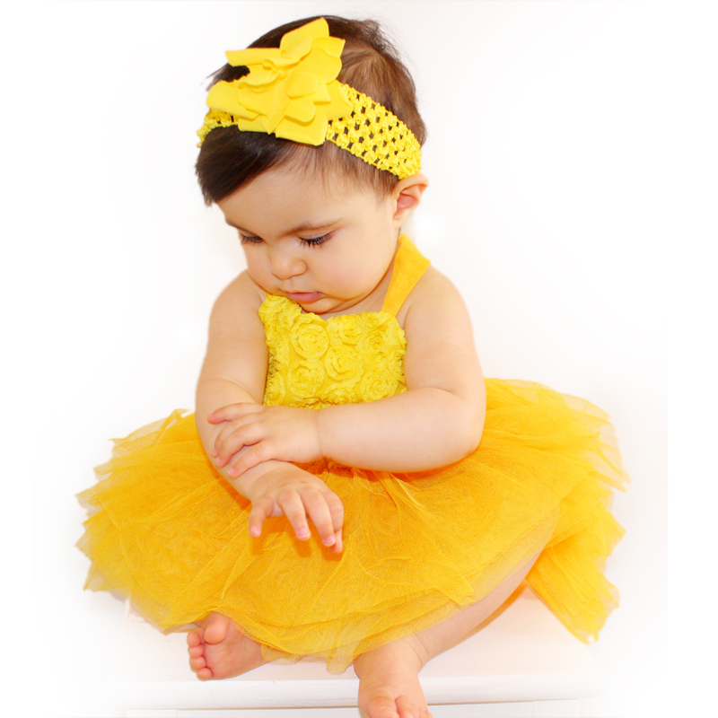 Ball Gowns Clothes for Girls Baby Dress Sling Floral Dresses 1-8 Years Tulle Tutu Sleeveless Clothing Kids Birthday w10080