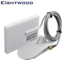 Eightwood Wi-Fi антенна направленная 2,4 ГГц 9dBi с 150 см расширенный кабель RP-SMA разъем настраиваемый TNC SMB MMCX MCX BNC