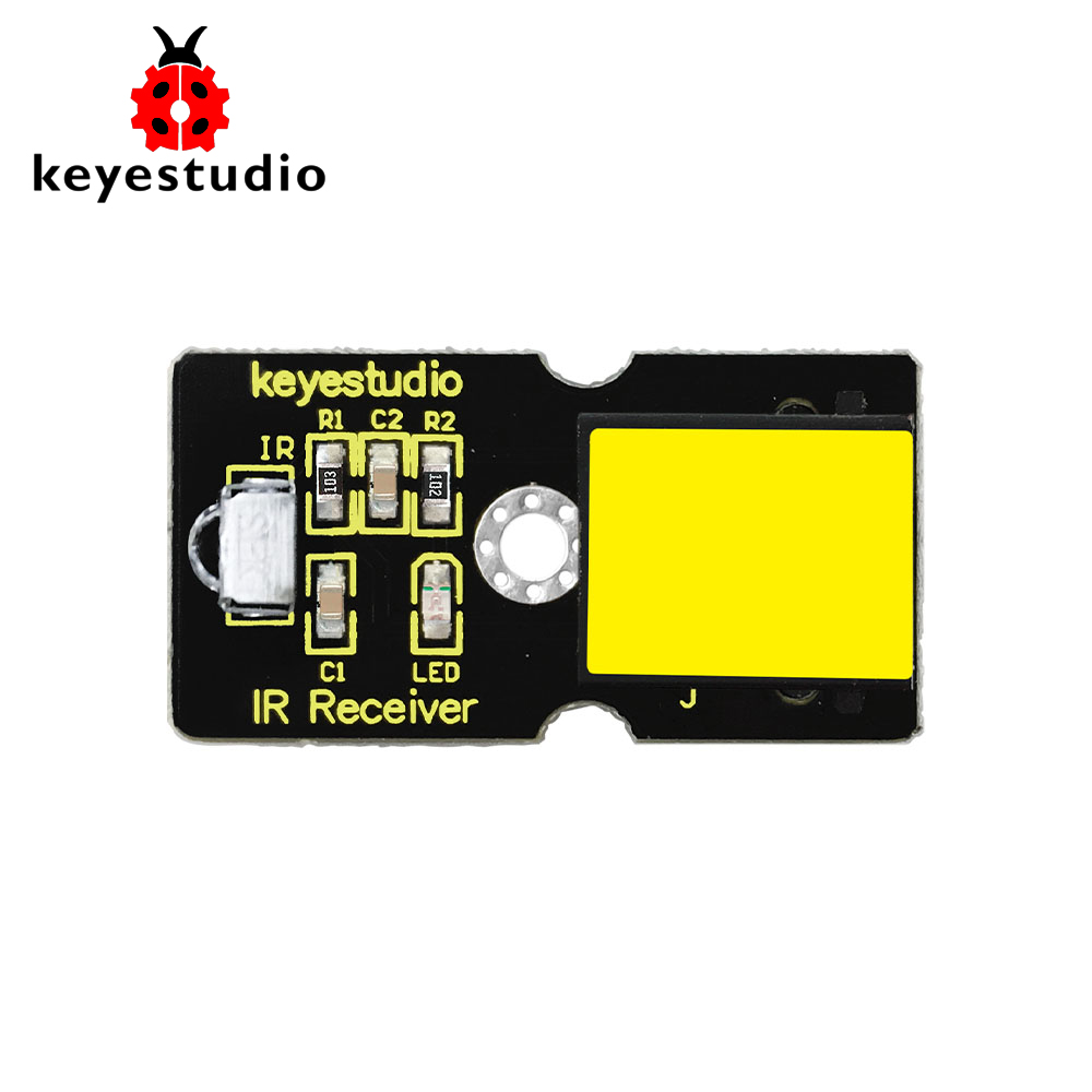 New! Keyestudio EASY Plug IR Infrared Receiver Module For Arduino Starter STEAM