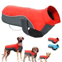 Водонепроницаемый собака зимнее пальто Теплые щенок куртка жилет одежда для домашних животных собака Костюмы для маленький средний большой собаки Ropa Para Перро