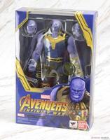 B 18 см Marvel игрушки Мстители 3 Бесконечная война танос ПВХ Фигурки TITAN герой серии Рисунок Коллекционная модель игрушка
