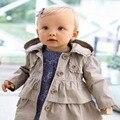 Девушки детей куртка, Детские bebes дети одежда девочки пальто и куртки зимнее пальто roupas infantis menina