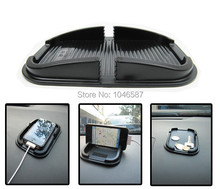 Car sundry super silicone mobile phone mat mat car GPS navigator bracket magic silica gel pad Dashboard mats  Slip Non Slip Mat цена