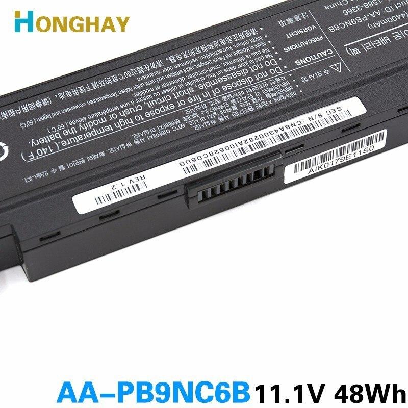 Аккумулятор ноутбука HONGHAY AA-PB9NC6B для - Аксессуары для ноутбуков - Фотография 6