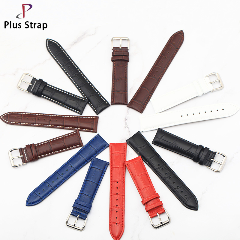 Plus strap Suitable For Men and Women Watches Multi Size Watch strap Waterproof Wear-resistant and Flexible Leather watch band plus size color block multi strap tankini
