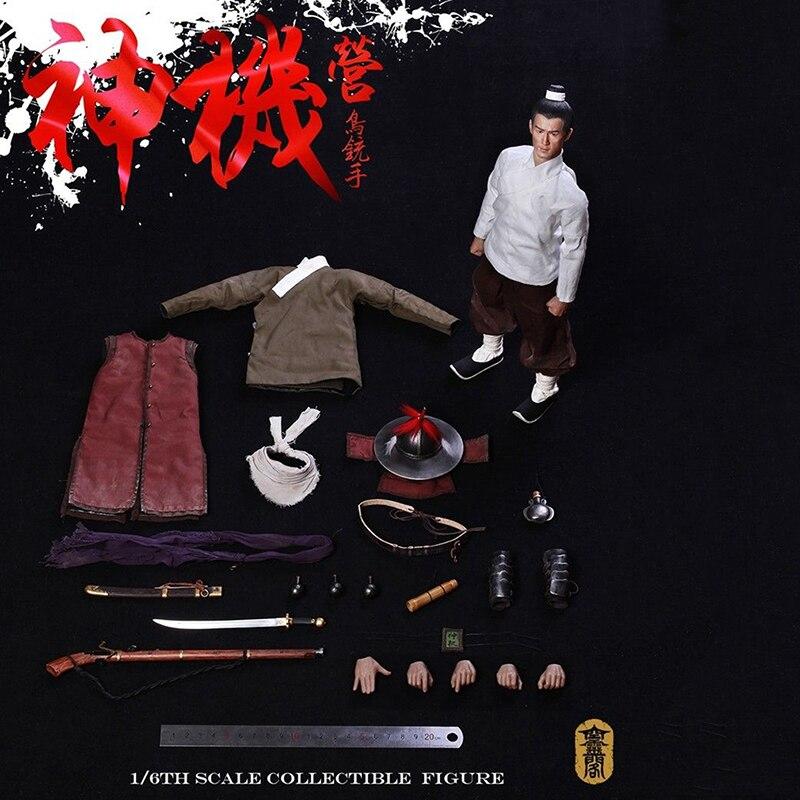 Pour collection ensemble complet poupée 1/6 KLG005 Wanli corée guerre Ming dynastie Camp ancien soldat Figure caractéristique modèle Fans en boîte cadeau