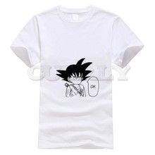 2019 new T-shirt Dragon Ball Large size Japan Anime Cartoon comics Summer dress men tee Pop Boy Funny t shirt Cute Clothing