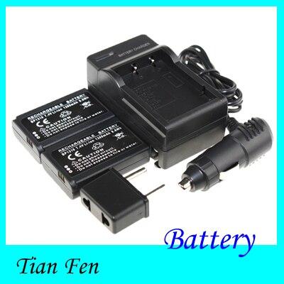 Nueva venta caliente 2 unids batería + cargador BP1310 BP 1310 batería recargable de la cámara para Samsung NX NX10 NX100 NX11 NX20 NX5 nuevo