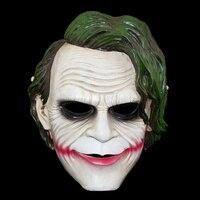 Nuevo Batman The Dark Knight Joker Máscaras Partido de La Mascarada Del Carnaval Máscara de Halloween Cosplay Máscaras de Payaso Miedo