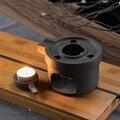 Креативная каменная мельница  теплая чайная плита  керамическая основа  китайский чайный набор кунг-фу  аксессуары  чайник  держатель  нагре...