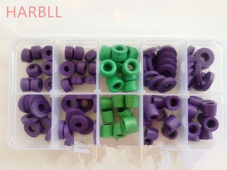 HARBLLBoxof synthétique en caoutchouc tapis table tablier rondelle automobile pièces de climatisation réfrigérant tube washwei jarno wei si