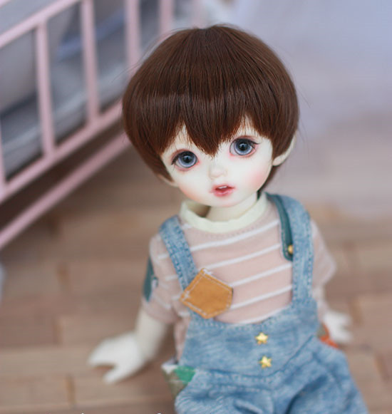 1//6 1//4 1//3 BJD Doll Clothes White Fake Two Pieces Sweater /& Black Pants Suit
