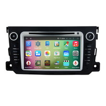 7″ Android 5.1 Quad Core Car Radio DVD GPS Navigation Central Multimedia for Mercedes Benz Smart 2012 2013 Bluetooth Handsfree