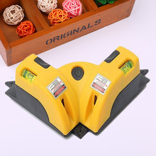 90 Degree Square Laser Line Projection Level Measure Scale Leveler Tool