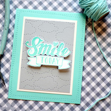 Eastshape Background Clouds Metal Cutting Dies Scrapbooking Square For Card Making Craft Embossing Stencil Decoration