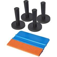EHDIS 5 IN 1 Window Tint Tools Kit 4pcs Foil Magnet Holder Car Vinyl Film Wrap