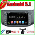 8'' Quad Core Android 5.1 Car Radio GPS For Nissan SYLPHY 2012-2013 B17 2012-2013 With Mirror Link 16GB Flash Free Shipping