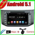 8 ''Quad Core Android 5.1 Radio de Coche GPS Para Nissan SYLPHY 2012-2013 B17 2012-2013 Con Espejo Enlace 16 GB Flash Envío gratis