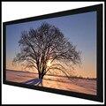 F1UCW Homecinema 2 35: 1 ультраширокая 4K Ультра HDR черная бархатная фиксированная рамка для домашнего кинотеатра проекционная стяжка  ПВХ кино белый