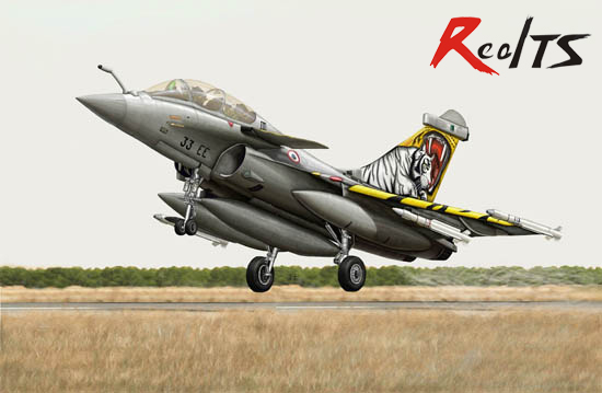 RealTS <font><b>Trumpeter</b></font> 03913 1/144 French Rafale B image