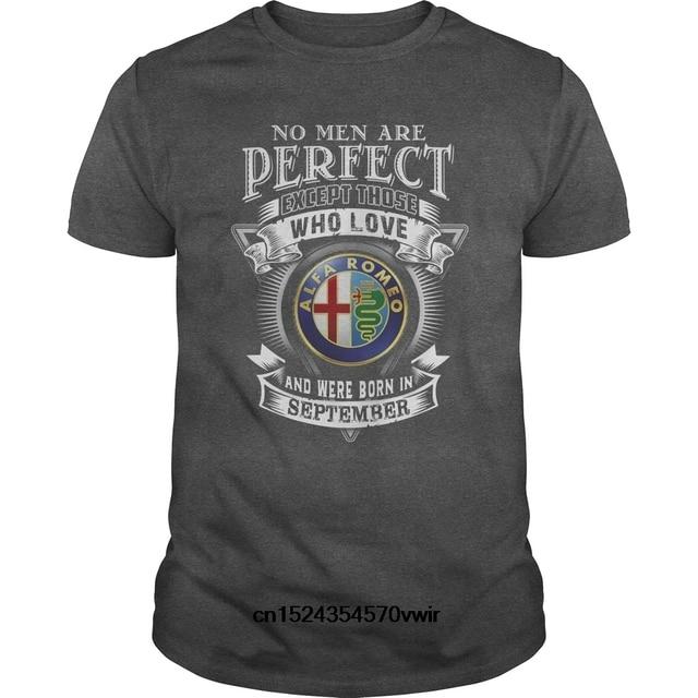 897a1a9d Funny Men t shirt Women novelty tshirt Alfa Romeo Men September cool T-Shirt