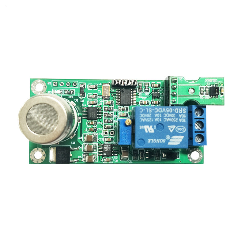 Air Conditioner Parts Mg811 Co2 Co2 Sensor Module Serial Port Output Air Quality Detection Relay Control