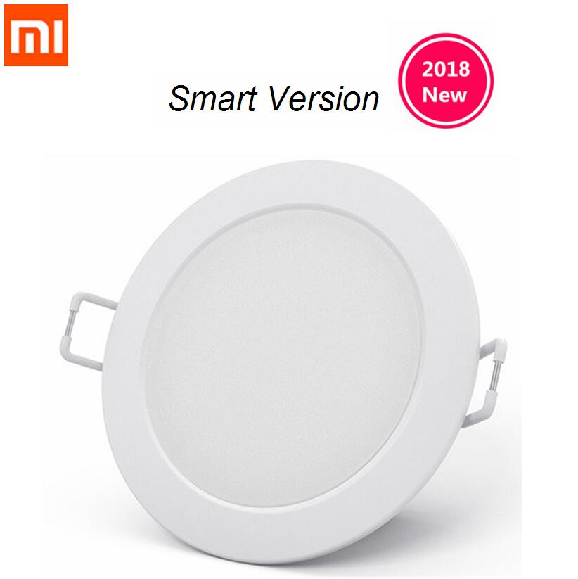 Original xiaomi mijia smart downlight work with mi home app smart remote control white & warm light Embedded Ceiling LED lamp xiaomi smart remote control transmitter for philips smart led ceiling light%2