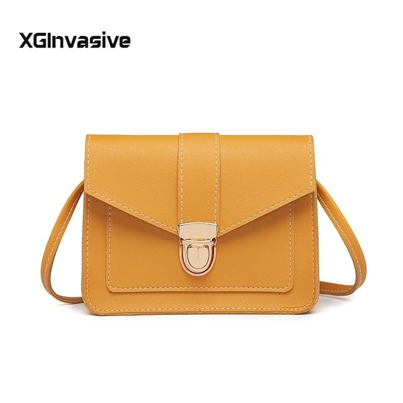 Fashion Women Crossbody Bags Luxury Handbags Women Bags Designer Leather Messenger Shoulder Bag For Women 2018 Bolsa Feminina