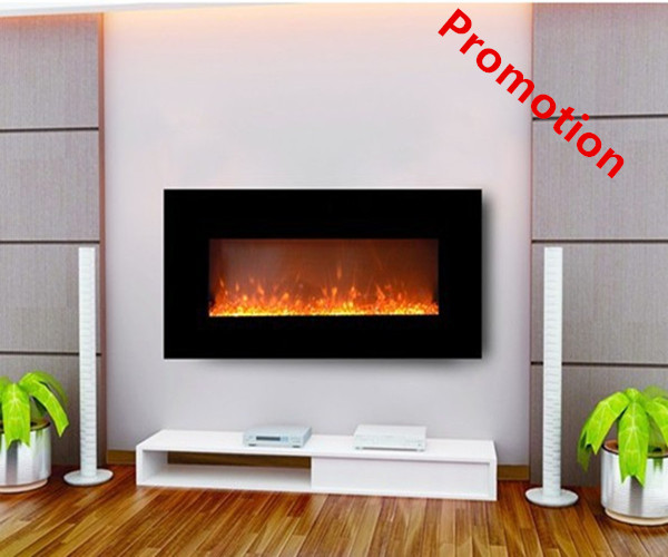 Free shipping to Denmark wall mounted decorative modern electric fireplace heater hearth