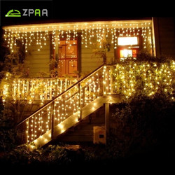 Christmas outdoor decoration 4 5m droop 0 4 0 8m led curtain icicle string lights 220v.jpg 250x250
