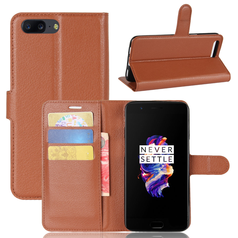 Baiscxst For <font><b>Oneplus</b></font> 5 Case <font><b>Cover</b></font> Silicone Luxury <font><b>Flip</b></font> Leather <font><b>Original</b></font> For One Plus 5 Case Shockproof Hard Metal Armor Fundas image