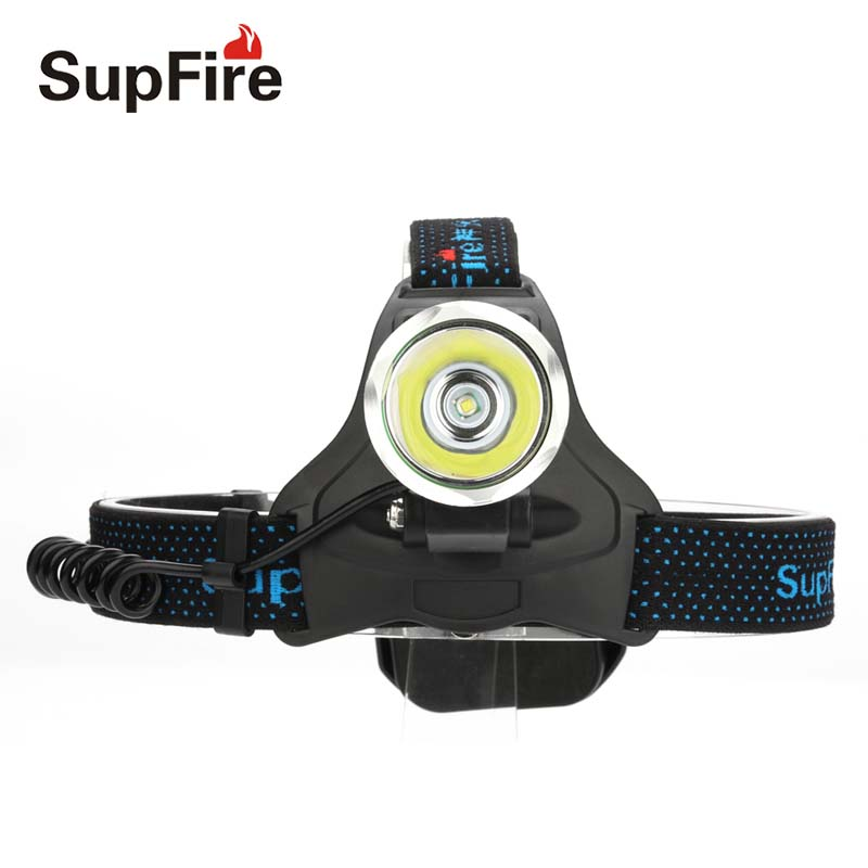 SupFire Headlamp CREE LED Flashlight Forehead Hunting Fishing Headlight HL31 Head Lamp Torch Light Lantern with Battery S107 uniquefire uf 1200 super bright cree u2 lamp flashlight light from outdoor hiking night fishing hunting led flashlight