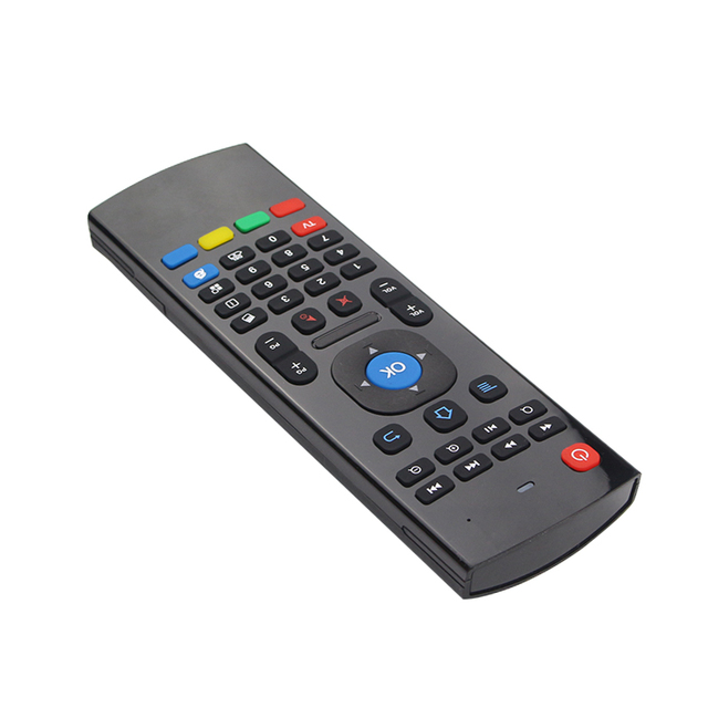 2.4G Wireless Remote Control Keyboard Mouse with USB Receiver For XBMC For Android TV Box Smart TV Promotion for Orange pi PC