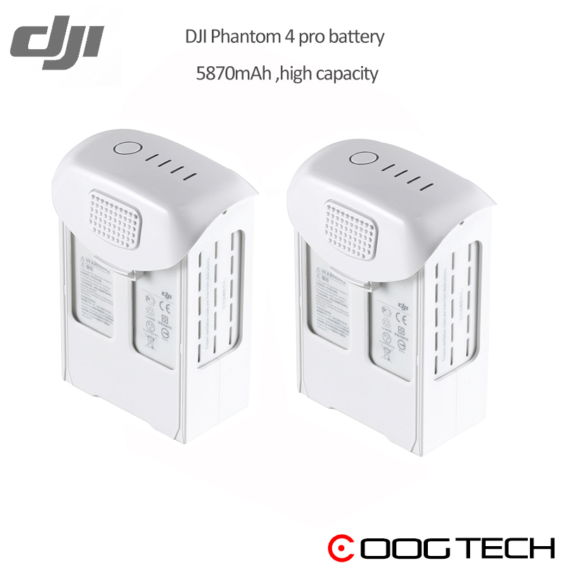 In Stock!!!DJI Phantom 4 pro High Capacity Battery  5870mAh 15.2V dji drone original Intelligent Battery High Capacity battery effects of crude oil on marine clam volume iii