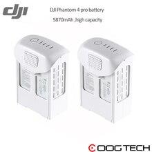 In Stock!!!DJI Phantom 4 pro High Capacity Battery 5870mAh 15.2V dji drone original Intelligent Battery High Capacity battery