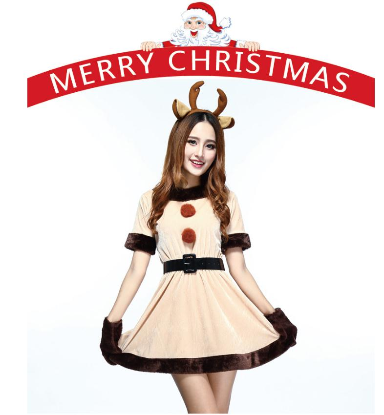 46da380337 Detail Feedback Questions about Santa Reindeer Elk Cosplay Costume ...